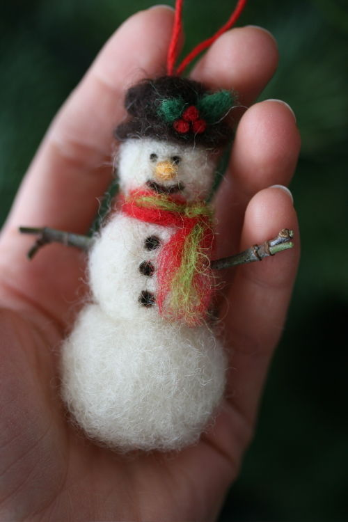 SnowmanOrnament