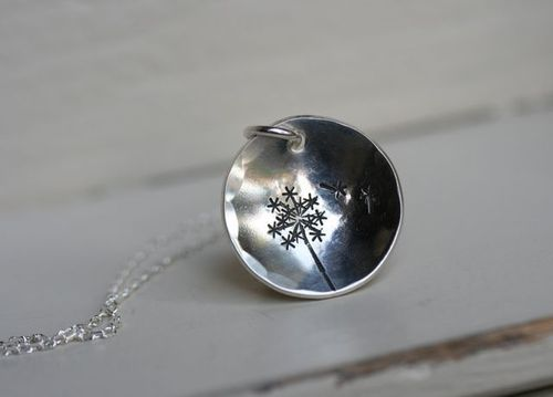 Dandelion Necklace-1