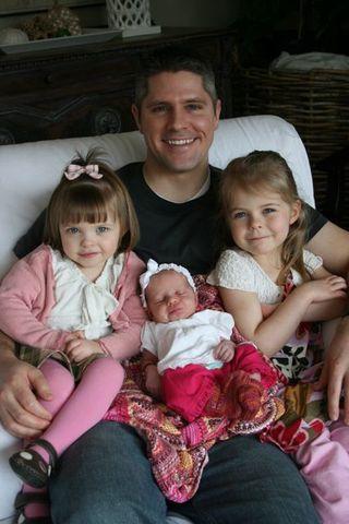 Aaron and girls
