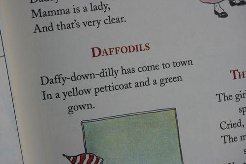 Daffodil rhyme