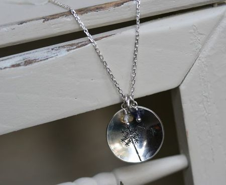 Dandelion Necklace-2