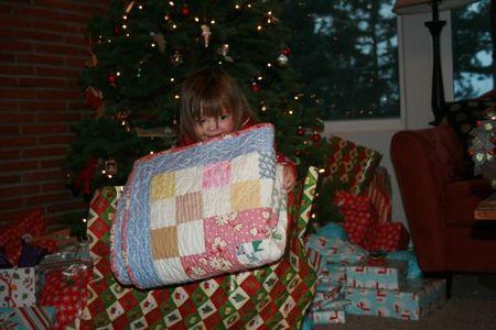 Christmas Clara quilt