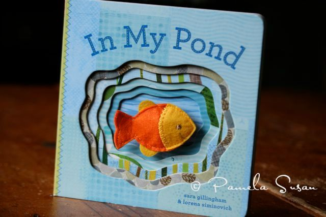 Blue day--in my pond book