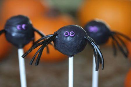 Spider cake pop-1