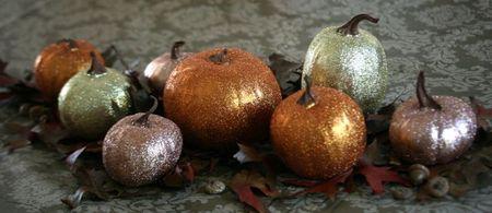 Glitter pumpkins-1