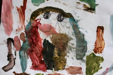 Cupcake painting-1
