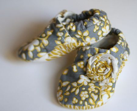Fabric baby shoes-1