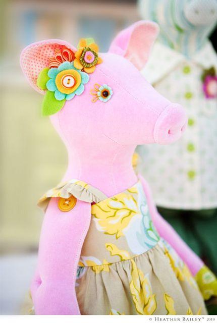 Heather Bailey Pig