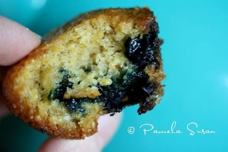 Blue day-blueberry muffins