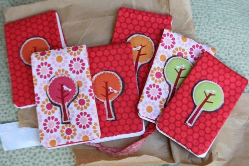 Fabric notepads-3