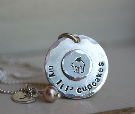 My lil cupcake necklace-4