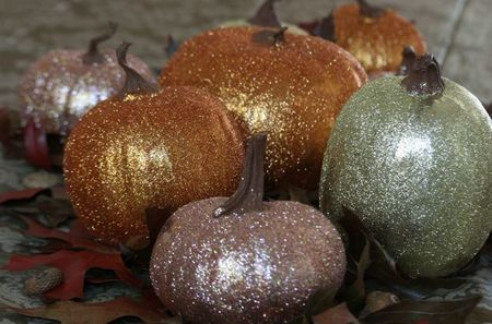 Glitter pumpkins-2