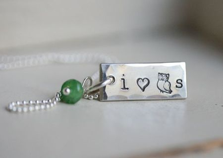I love owls necklace