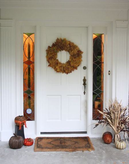 Wreath Door-1