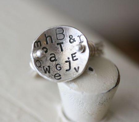 Letter ring-1