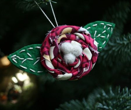 Flower ornament-2