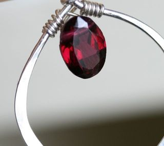 Garnet necklace-3