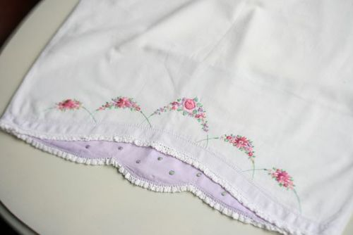 Embroidery--pillow case