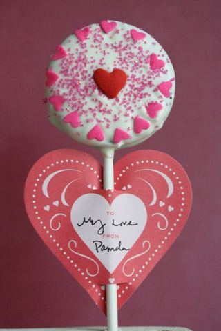Valentine Oreo paper heart