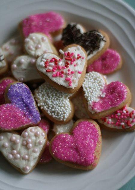 Valentine Sugar Cookies 2011