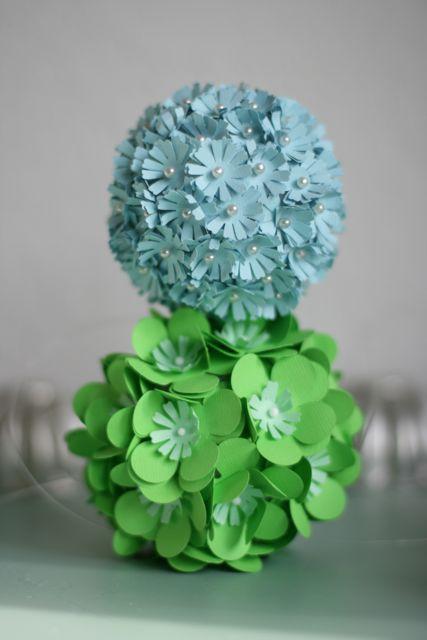 Paper flower balls-4