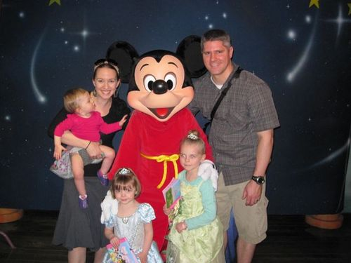 Disney-family with Mickey