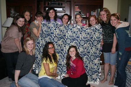 Blanket tying-2