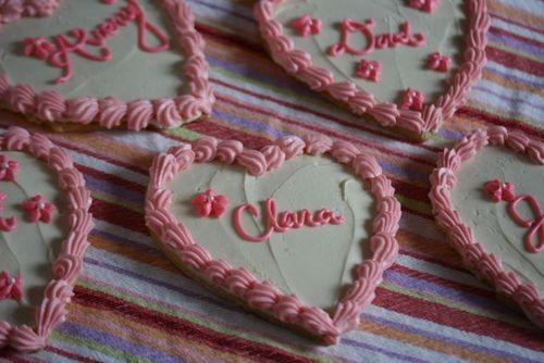 Valentine Sugar Cookies 2011-2