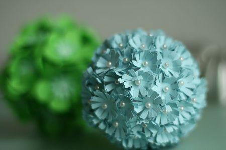 Paper flower balls-2