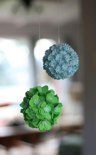 Paper flower balls-1