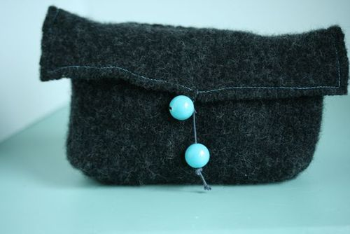 Japan auction wool wrap bag-6
