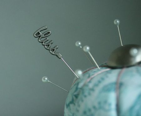 Pincushion bliss:blue -2