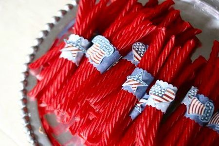 4th of july treats 3 licorice