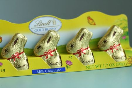 Chocolate lindt bunny-1
