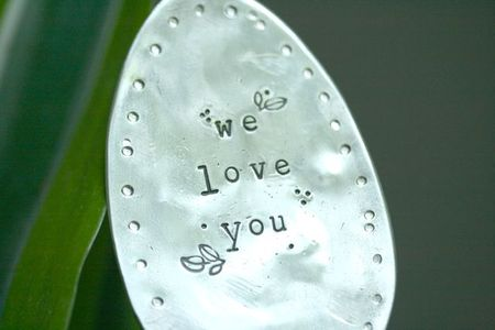Harriet's birthday hand stamped spoon-2