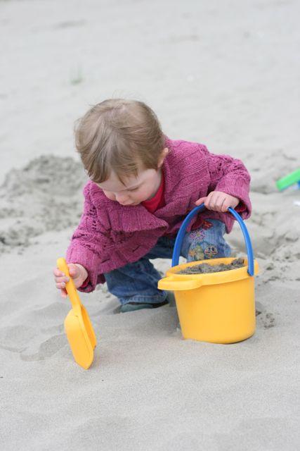 Seaside 2011--jane in sand-6