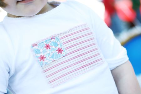Flag shirt homemade american