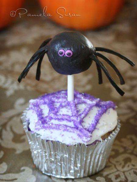Spider cake pop-2