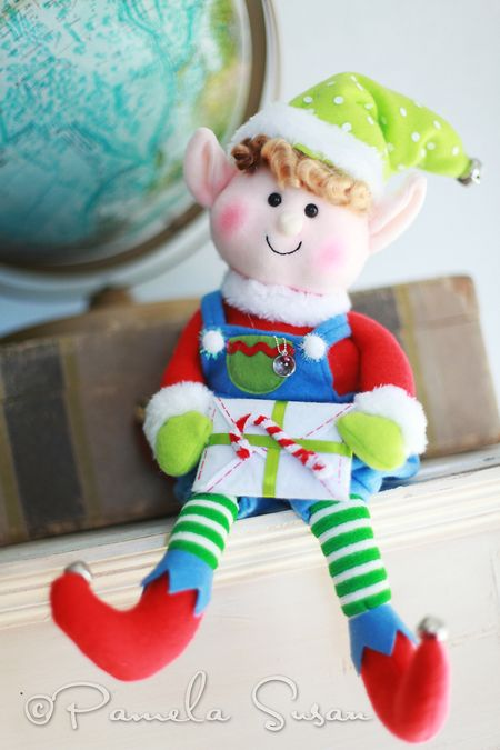 Elf on the shelf--boy