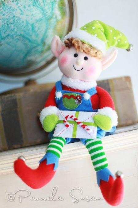 Elf on the shelf--boy