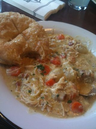 Timberline chicken pot pie