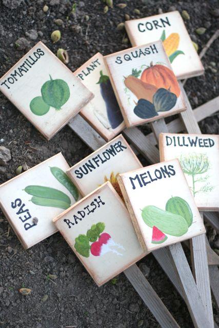 Garden markers 6