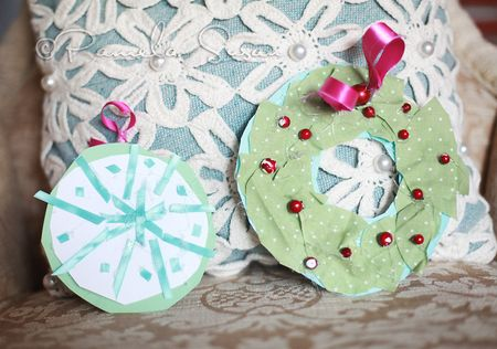 Avery's ornament and Wreath