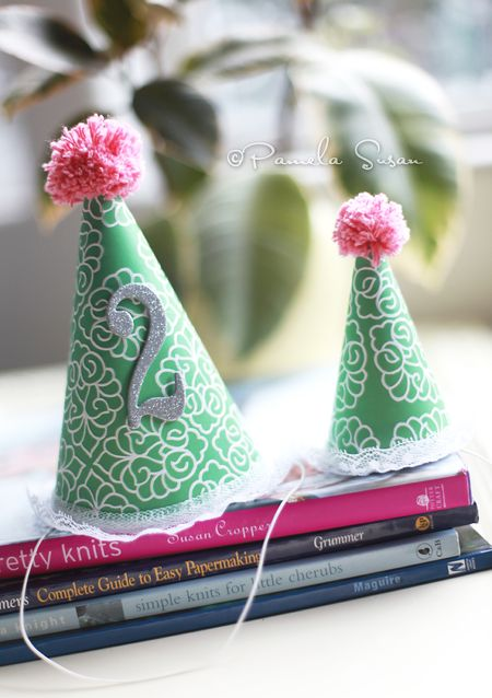 Party-hats-paper-homemade