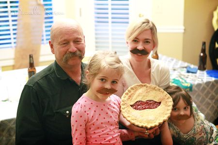 Dad's-60th-party-cherry-pie