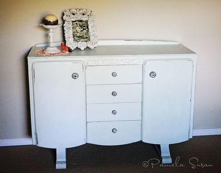 Dresser-repainted-rain-washed