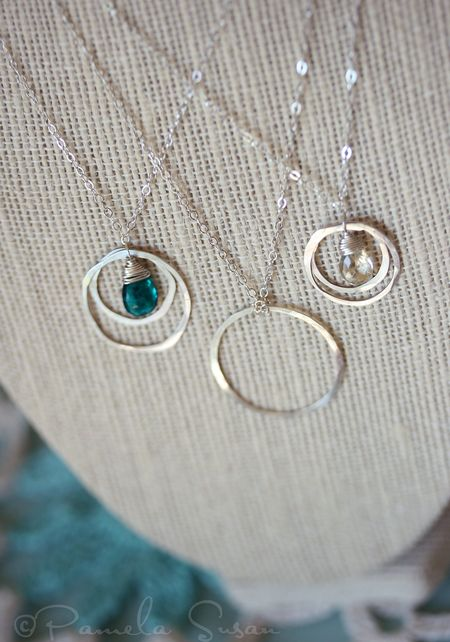 Circle-necklaces