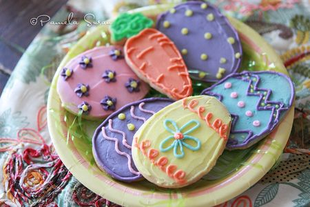 Easter-egg-cookies-grass