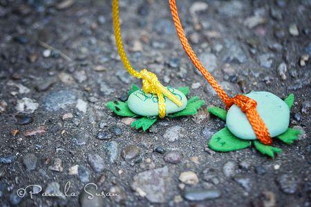 Turtles-on-leash