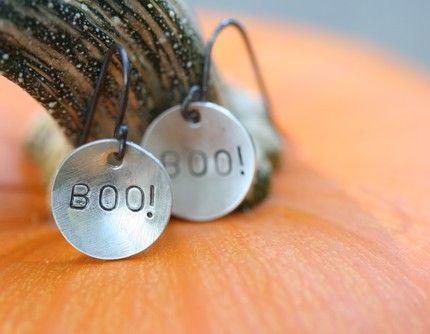 Boo!-earrings